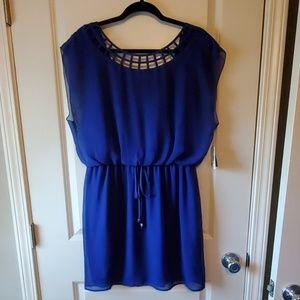 City Triangle Royal Blue Dress NWT